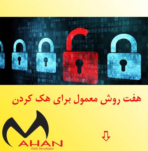 هک کردن رمز عبور
